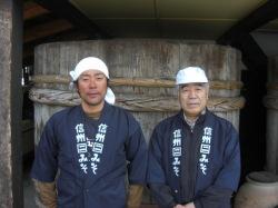 和泉蔵当主安部隆司氏と博隆氏